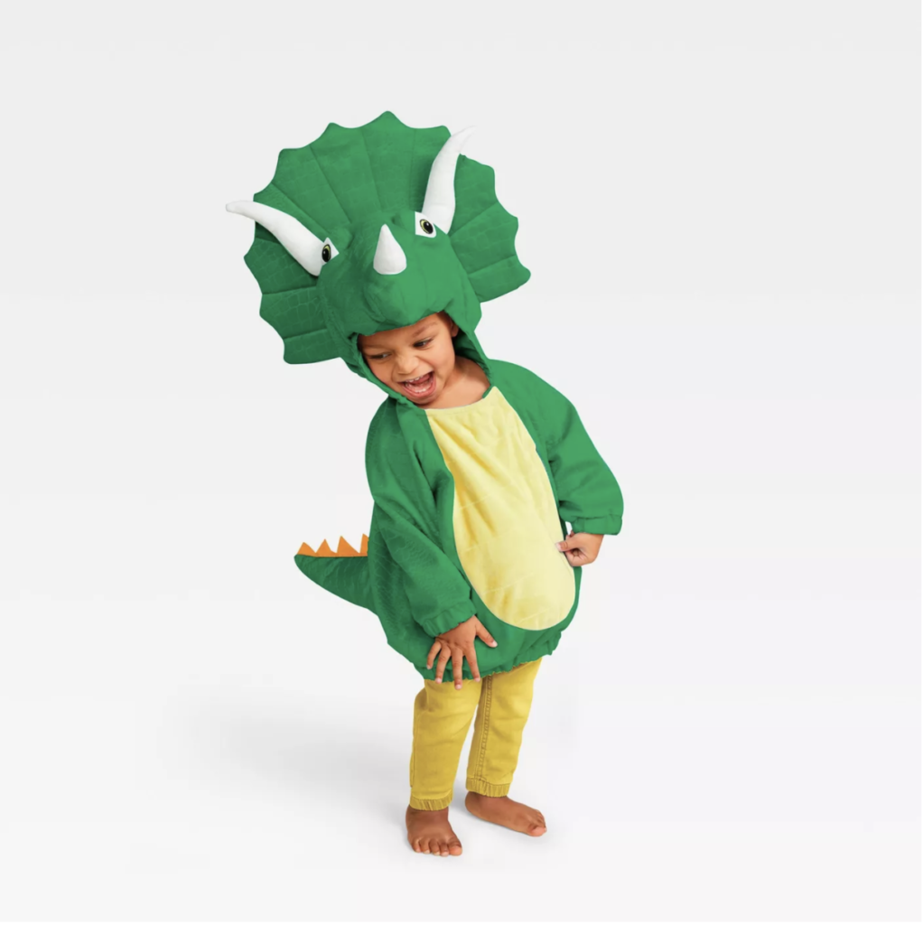 This triceratops costume has to be one the cutest baby costumes of the year.