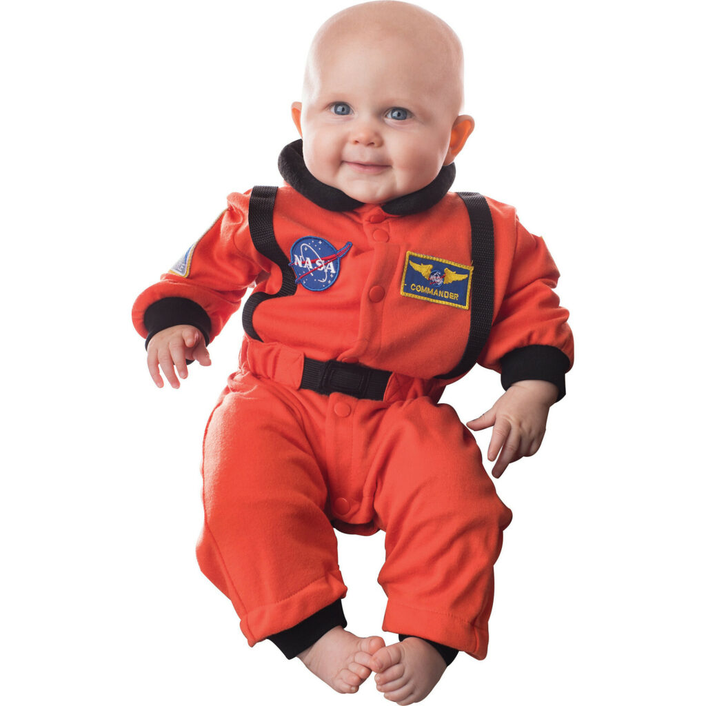 This astronaut costume has to be one the cutest baby costumes of the year.