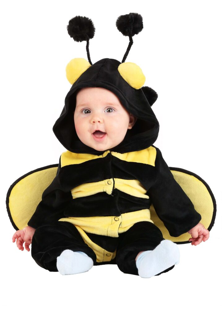 This bumble bee costume has to be one the cutest baby costumes of the year.