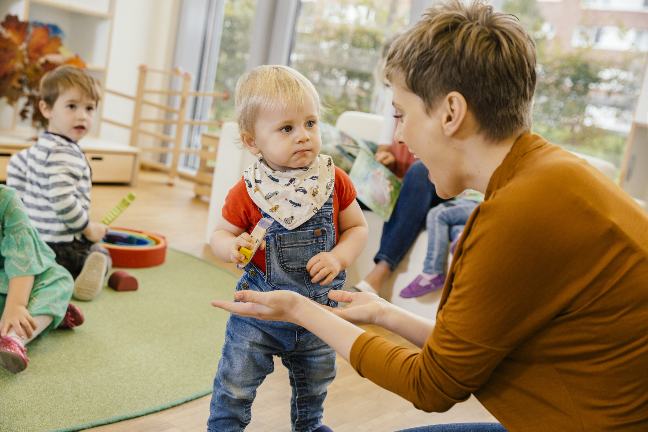 13 tips for the first day of day care