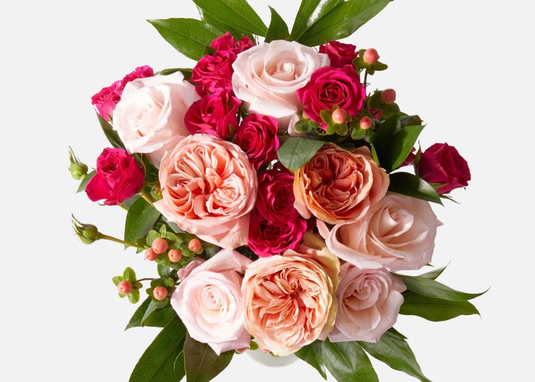 Send a simple bouquet to say thank you to your nanny
