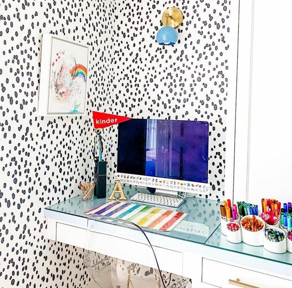 wallpaper homework station for teens