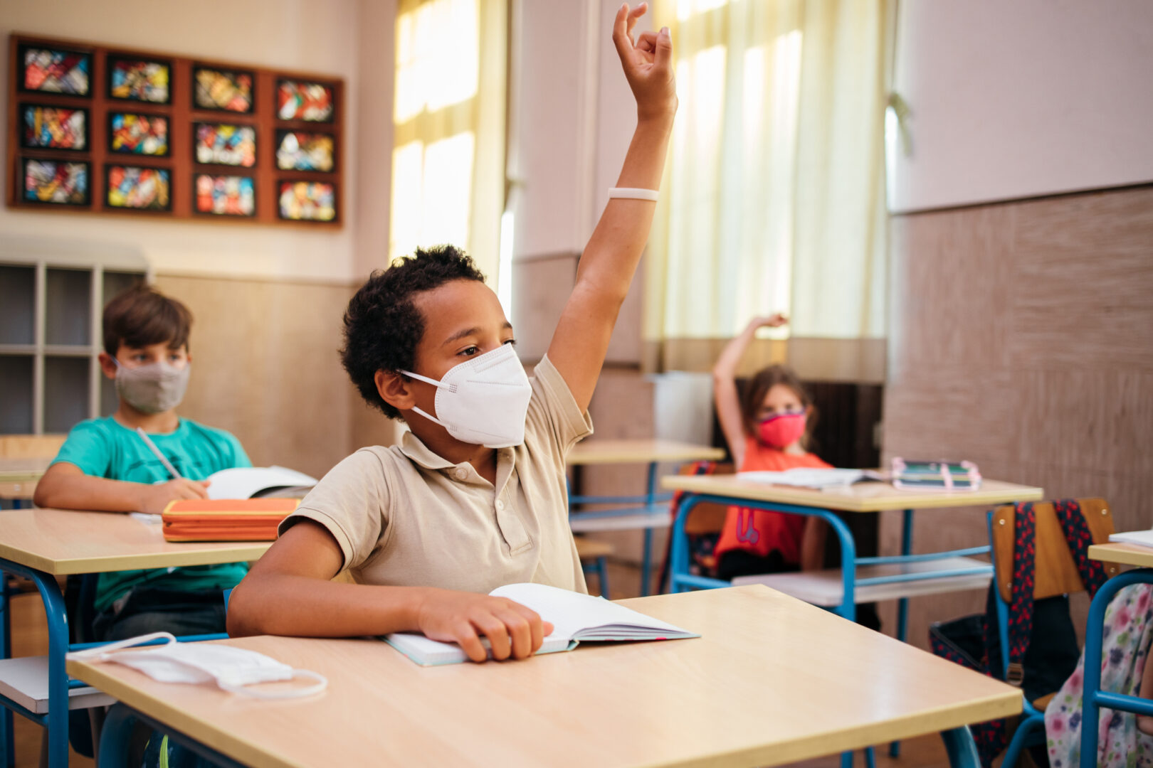 Are masks enough to keep kids safe at school amid the delta variant