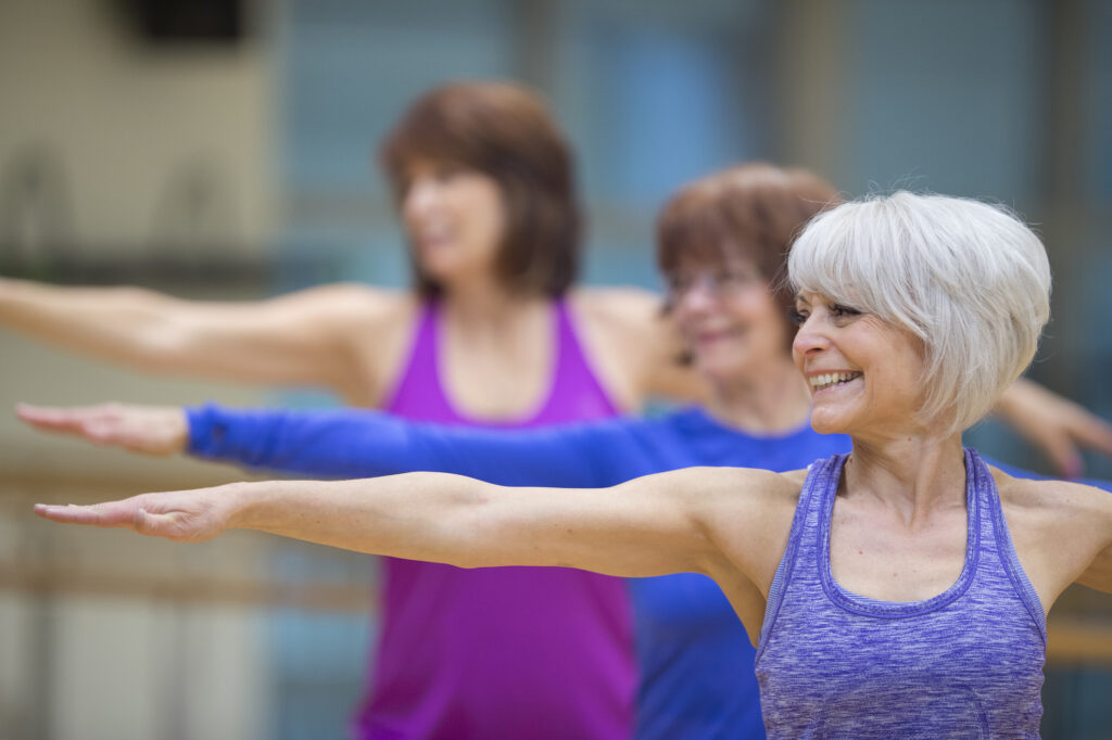 older adults addressing balance issues