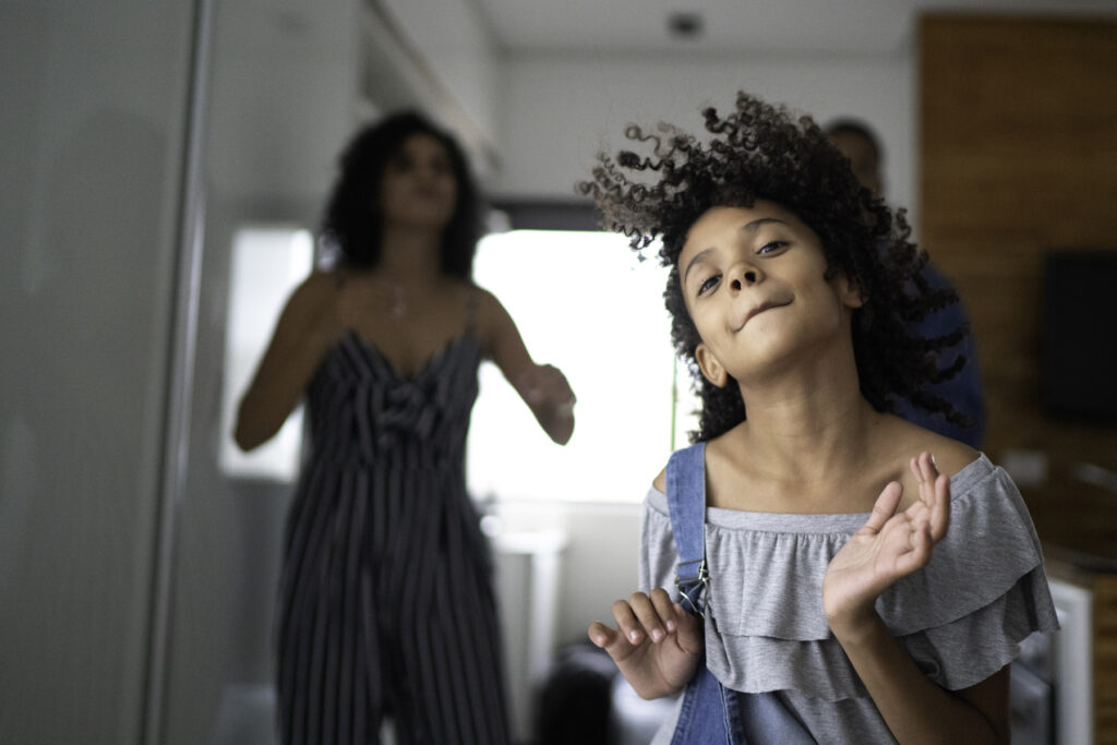 Showing kids Latin dance moves is a fun way to celebrate National Hispanic Heritage Month