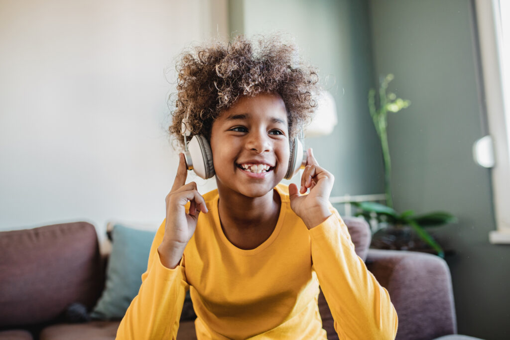 Letting kids make their own playlists is a fun way to celebrate National Hispanic Heritage Month with kids