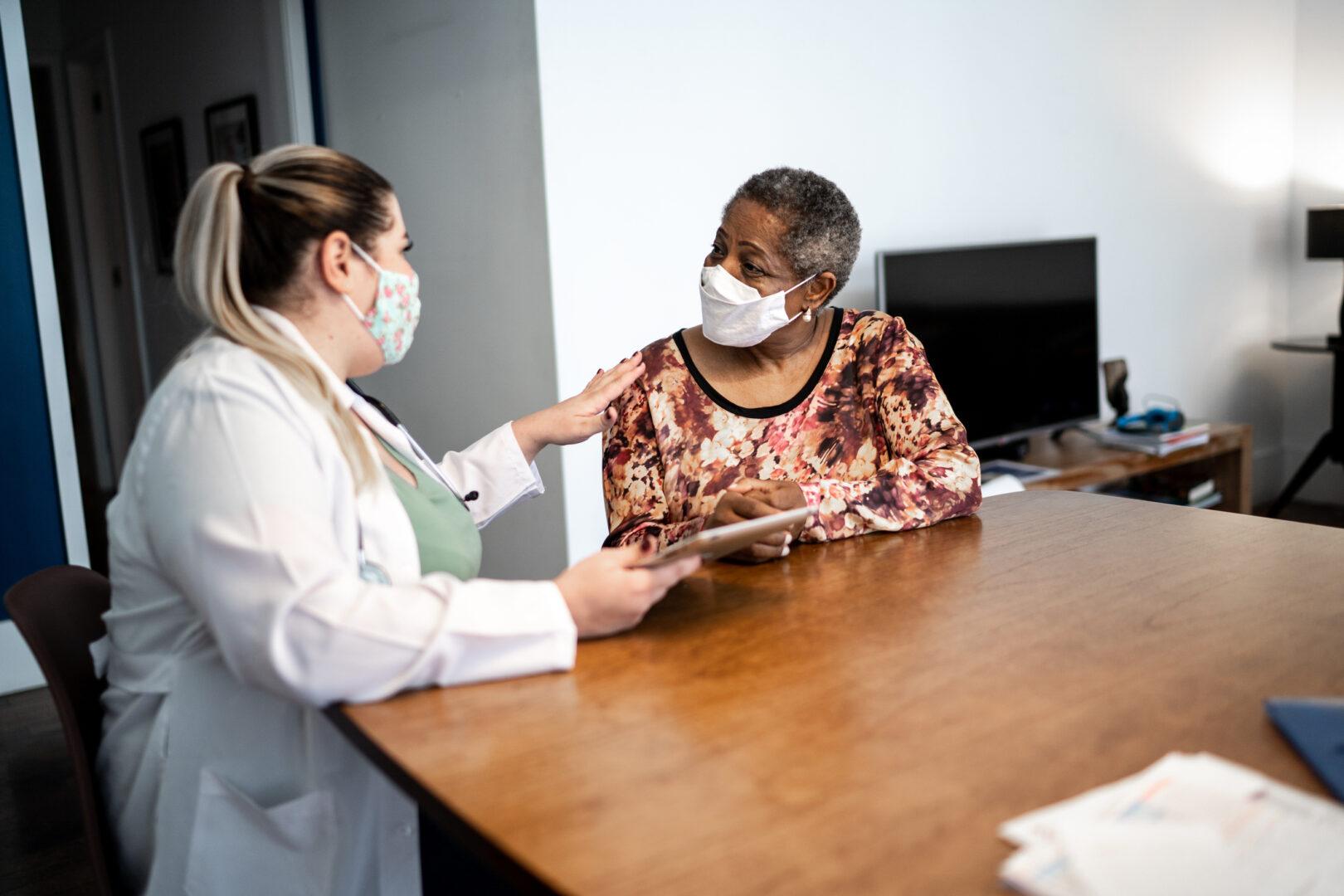 nursing home resident during delta