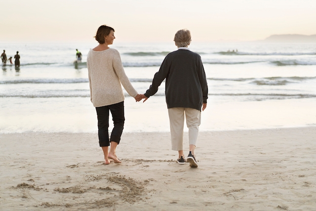 Senior caregivers are usually household employees