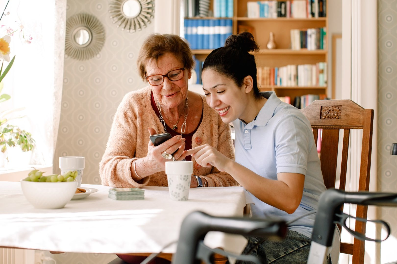 Live-in senior care is different than live-out senior care
